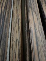 Fordaq - Piața lemnului - Vand Furnir Natural Ebony, Macassar Patru Fete Netede