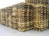 Wood Pallets - Buying Used Pine/ Spruce Euro Pallets