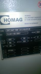 Pronađite najbolje drvne zalihe na Fordaq - CNC Machining Center HOMAG OPTIMAT BOF 311/40/21/R Polovna Rumunija