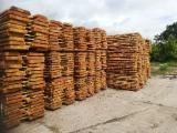 Sawn and Structural Timber - UNEDGED TIMBER: Siberian Larch (Larix Sibirica)