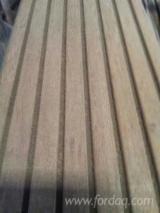 Terrassenholz Indonesien - Bangkirai , Belag (2 Abgestumpfte Kanten)