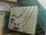 Press For Surface Finishing - Used Lamont Wood Clamping Press