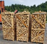 Find best timber supplies on Fordaq - LAZAROI COMPANY SRL - Spruce Cleaved Firewood, KD