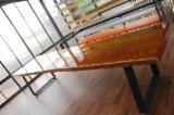 Muebles América Del Sur - Venta Mesas De Comedor Diseño Madera Suramericana Garapa (Grapia) Amazon Brasil