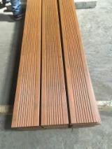 Toptan  Kaymayan Deck Tek Taraf Isıl İşlem Görmüş - Bambu, Isıl İşlem Görmüş, Kaymayan Deck (Tek Taraf)