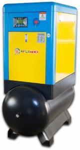 Latvia Woodworking Machinery - Screw Type Air Compressor AFLATEK Screw10A-180