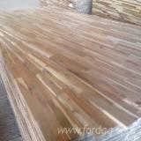 Paneles Alistonados, Paneles De Laminas Empalmadas en venta - Venta Panel De Madera Maciza De 1 Capa Acacia 18 mm Vietnam