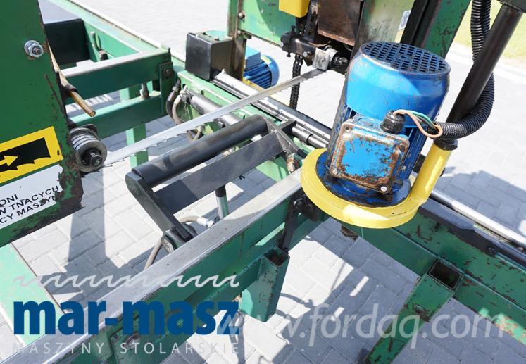 Trak Riemen mit hydraulischen und bellen Maschine TP-800-R Resbud ...