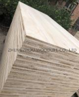 Wood Components - African Paulownia Glued Elements from China