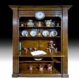 Buy Or Sell  Display Cabinets - Wooden Library, 182 x 51 x 237 cm