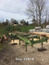 Przewoźne Tamowe Pilarki Do Kłód PEZZOLATO Mini Profi 1000 Używane Francja