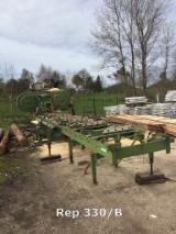 PEZZOLATO Woodworking Machinery - Used PEZZOLATO Mini Profi 1000 2001 Mobile Log Saws For Sale France