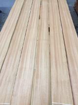 Sliced Veneer FSC - Natural Veneer, Doussie , Quartered, Plain