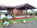 Holzkomponenten, Hobelware, Türen & Fenster, Häuser Südamerika - Vorgeschnittene Fachwerkbalken - Dachstuhl