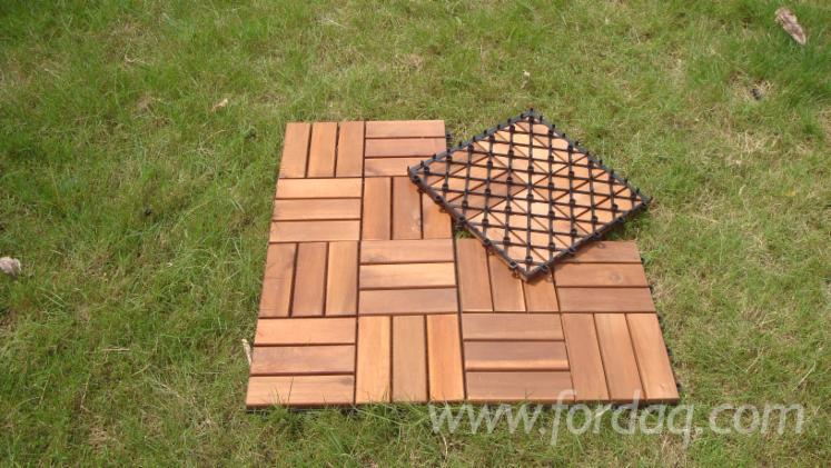 Vendo piastrelle di legno per giardino latifoglie asiatiche