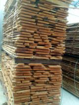Hardwood  Unedged Timber - Flitches - Boules Steamed < 24 Hours - Beech unedged lumber 27 mm