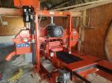 Wood-Mizer Woodworking Machinery - Used Wood-Mizer Log Band Saw Horizontal For Sale Romania