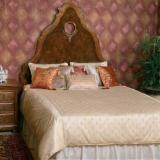 Italy Bedroom Furniture - Traditional Bed, 168 x 204 cm