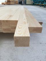 Drewno Iglaste  Drewno Klejone Warstwowo – Elementy Drewniane Łączone Na Mikrowczepy Na Sprzedaż - Belki Klejone Proste, Sosna Zwyczajna  - Redwood, Świerk  - Whitewood