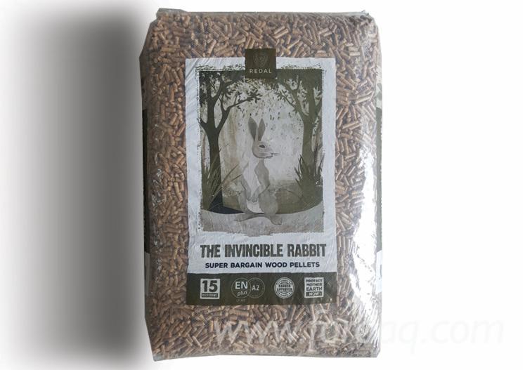 """The Invicible Rabbit  A2"" Wood Pellets"