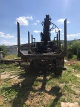 Forest & Harvesting Equipment - Timber truck with Manipulator sort Carriage