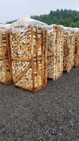 Find best timber supplies on Fordaq - LAZAROI COMPANY SRL - Beech Firewood/Woodlogs Cleaved 6-14 cm