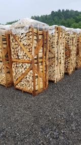 Energie- Und Feuerholz Brennholz Gespalten - Buche Brennholz Gespalten 6-14 cm