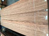 批发木皮 - 采购或销售木皮复合板 - 天然木皮单板, 金黄五桠果木, 裂缝