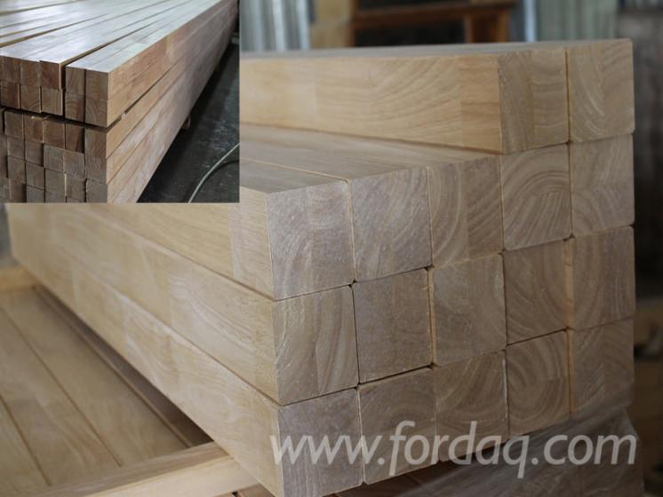 Wood Components- Rubberwood Finger Joined Elements