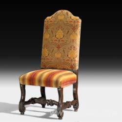 Orange Upholstered Chairs
