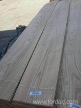 Asia Sliced Veneer - White / Red Oak Flat Cut Veneer