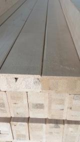 Drewno Iglaste  Drewno Klejone Warstwowo – Elementy Drewniane Łączone Na Mikrowczepy Na Sprzedaż - LVL - Belki Klejone Z Warstw Forniru, Sosna Zwyczajna  - Redwood, Świerk  - Whitewood