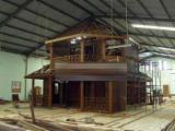 Holzhäuser - Vorgeschnittene Fachwerkbalken - Dachstuhl Zu Verkaufen - Holzrahmenhaus