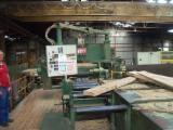 MEM Woodworking Machinery - Used MEM 1000 Double Blade Edging Circular Saw For Sale France