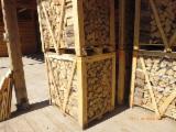 Energie- Und Feuerholz Brennholz Gespalten - Brennholz aus Polen 1 RM Boxen