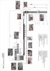 Maschinen, Werkzeug und Chemikalien - Platten Produktions Linie / CORE LAYER - BOARD PRODUCTION LINE Torwege/Rex/Kallfass/Homag