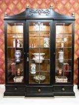 Buy Or Sell  Display Cabinets - Black Walnut Library, 178 x 52 x 245 cm