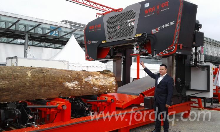 Sawmill Wravor type 1050 - maximum optimization of the process of maneuvering with a log