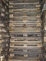 Pallets and Packaging  - Fordaq Online market - Offer for Used-New /Pine/ Spruce Euro Pallets with 1200 mm length