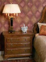 Italy Bedroom Furniture - Walnut Nightstand, 86 x 53 x 71 cm
