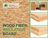 Шпон мебельные щиты и плиты - Древесноволокнистые теплоизоляционные плиты