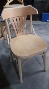 Furniture and Garden Products - Offer for unfinished vintage wooden chairs