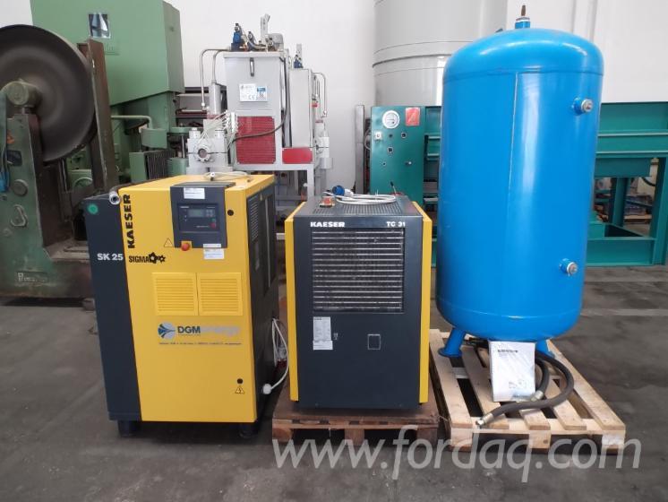 Gebraucht-Kaeser-SK25-SFC---MT-TC31-SERB--SICC-LT-725-DESOLEATORE-CF6-2010-Werkzeuge-Und