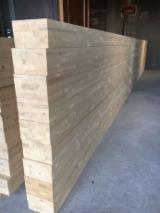 Softwood  Sawn Timber - Lumber Beams - -- mm Kiln Dry (KD) Fir , Spruce  Beams Romania