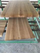Blaturi Pentru Mese - Blaturi stejar masiv, periate si lăcuite, grosime 45 mm - 3000 EURO