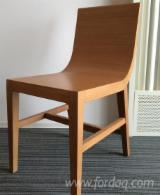 Furniture and Garden Products - Modern Acacia Chairs for Living Room or Hotel Rooms
