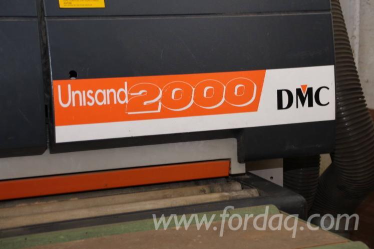 Gebraucht DMC Unisand 2000 2000 Schleifmaschinen Mit Schleifband Zu Verkaufen Italien