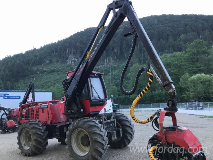 Offer for Used Komatsu 911.4 X3M / 9.731 H 2011 Harvester Germany