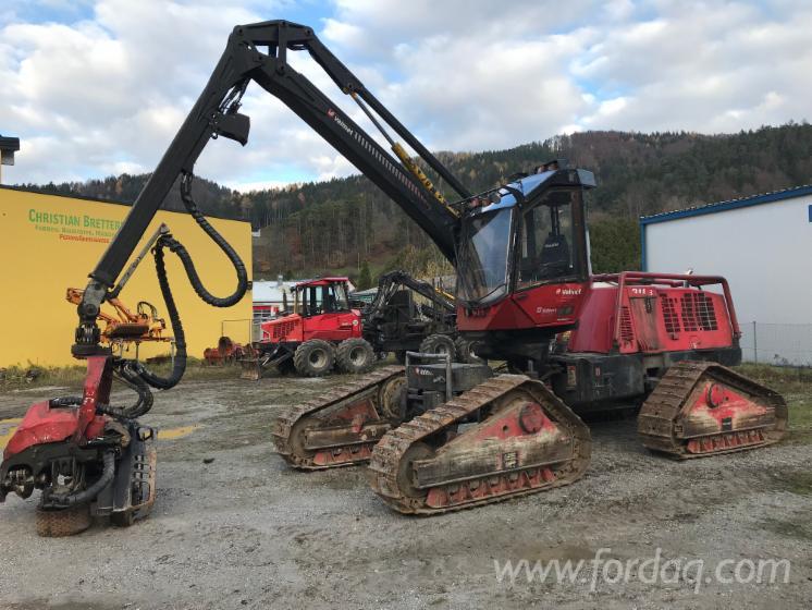Vand-Harvester-%28Utilaj-De-Exploatare%29-Valmet-911-3-X3M---10-187-H-Second-Hand-2008