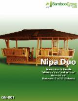 Philippines Garden Furniture - Offer for Duo Bamboo Gazebo